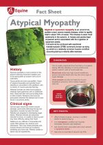 Atypical Myopathy (Sycamore Poisoning)