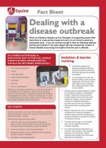 Dealing with a disease outbreak