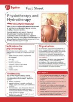 physiotherapy and hydrotherapy